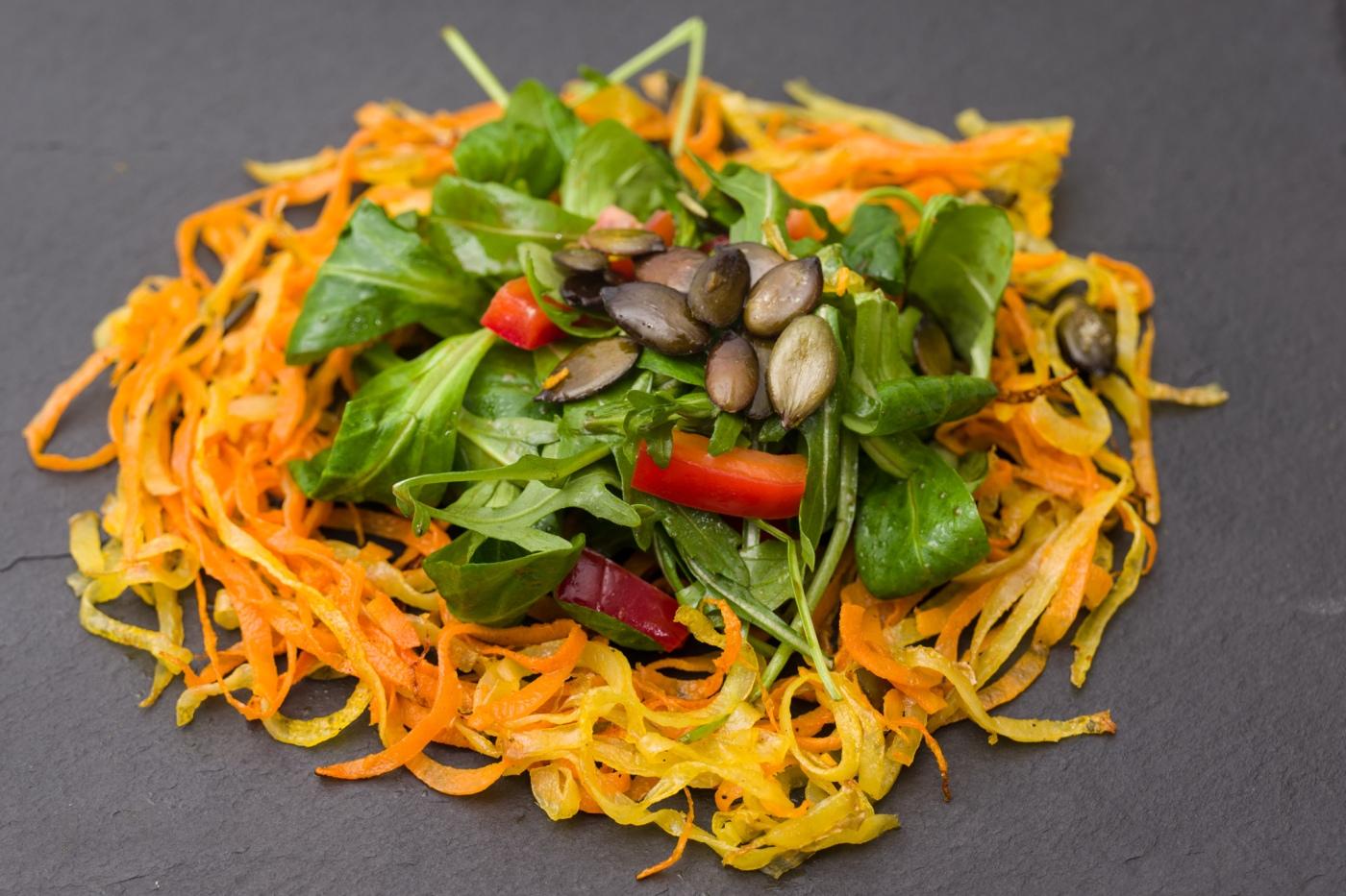 Gemüsenudeln - komplett