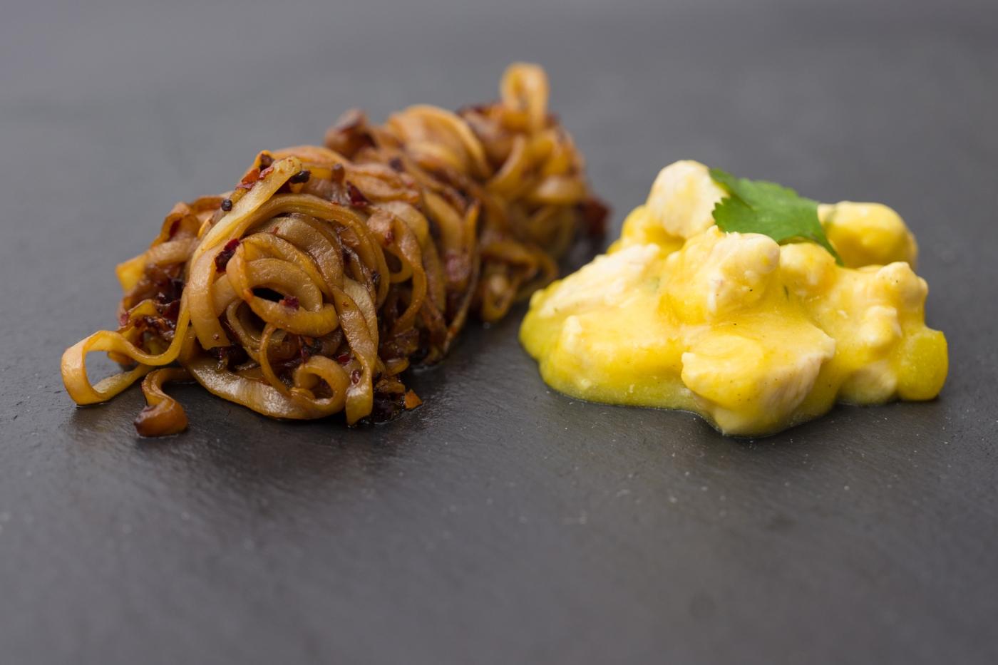 Kartoffelnudeln mit Ragout